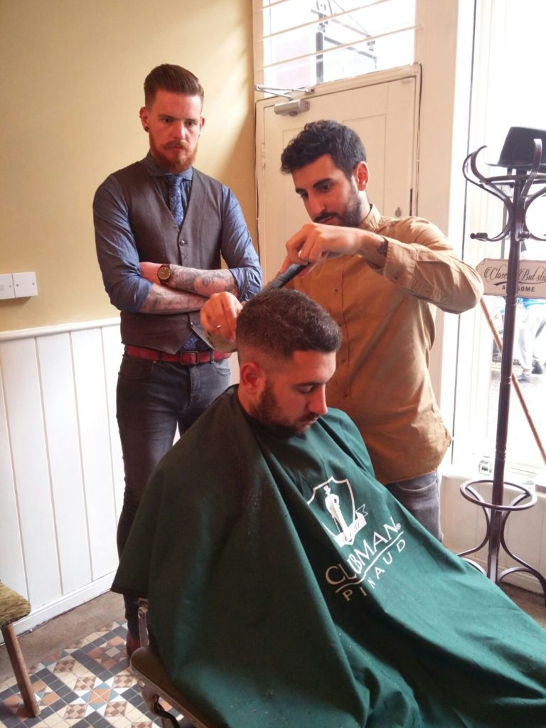 How to beome a barber in London. Shoreditch. Barber. Barbershop. London